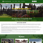 Orsett Show - Event website - WordPress development